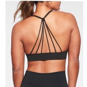 Athleta Convergence Bra - Black Medium